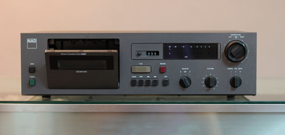 Nad 6325 Stereo Cassette Deck Parts