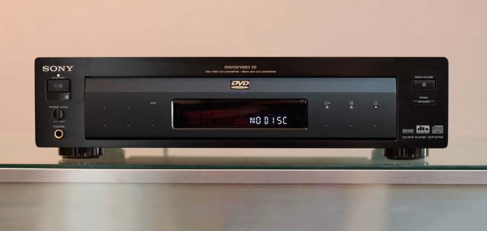sony dvd player. sony dvp-s7700 cd/dvd player dvd s
