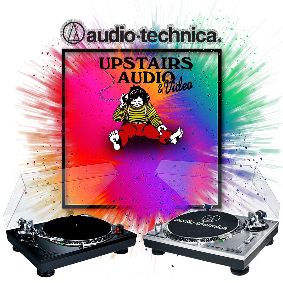 photo of Audio-Technica LP120 turntables